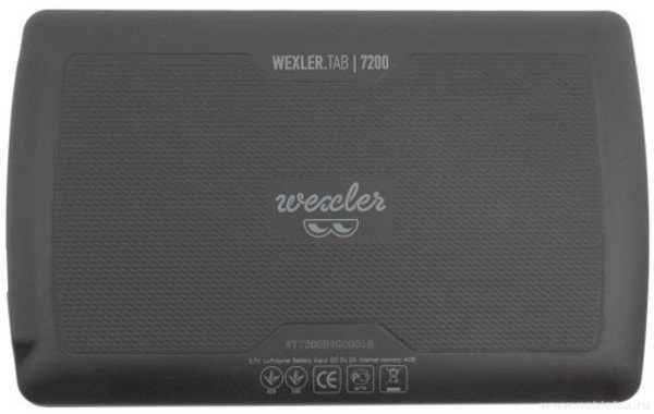 WEXLER .TAB 7200 4Gb