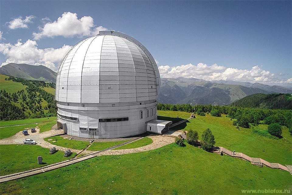 Астрофизическая обсерватория в Нижнем Архызе (Россия)