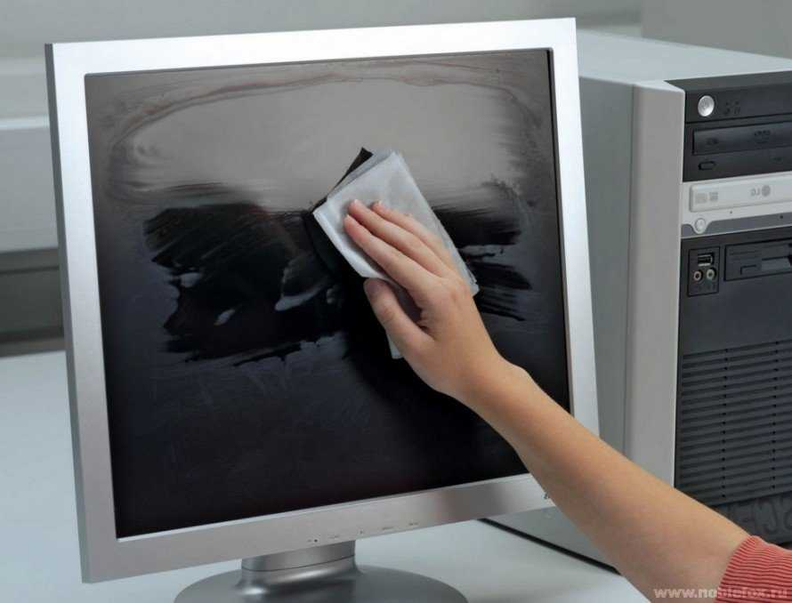 Вы уверены, что чистите экран компьютера правильно?